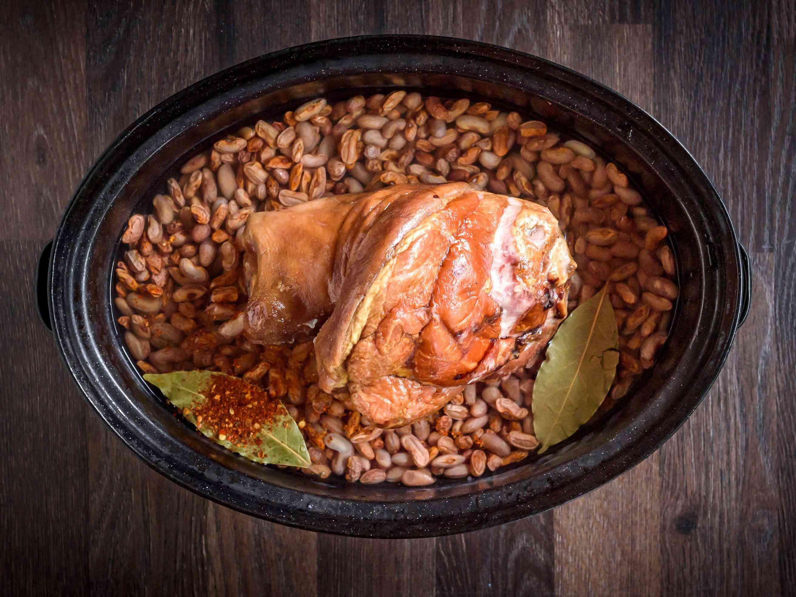 Crock Pot Pinto Beans With Ham Hocks