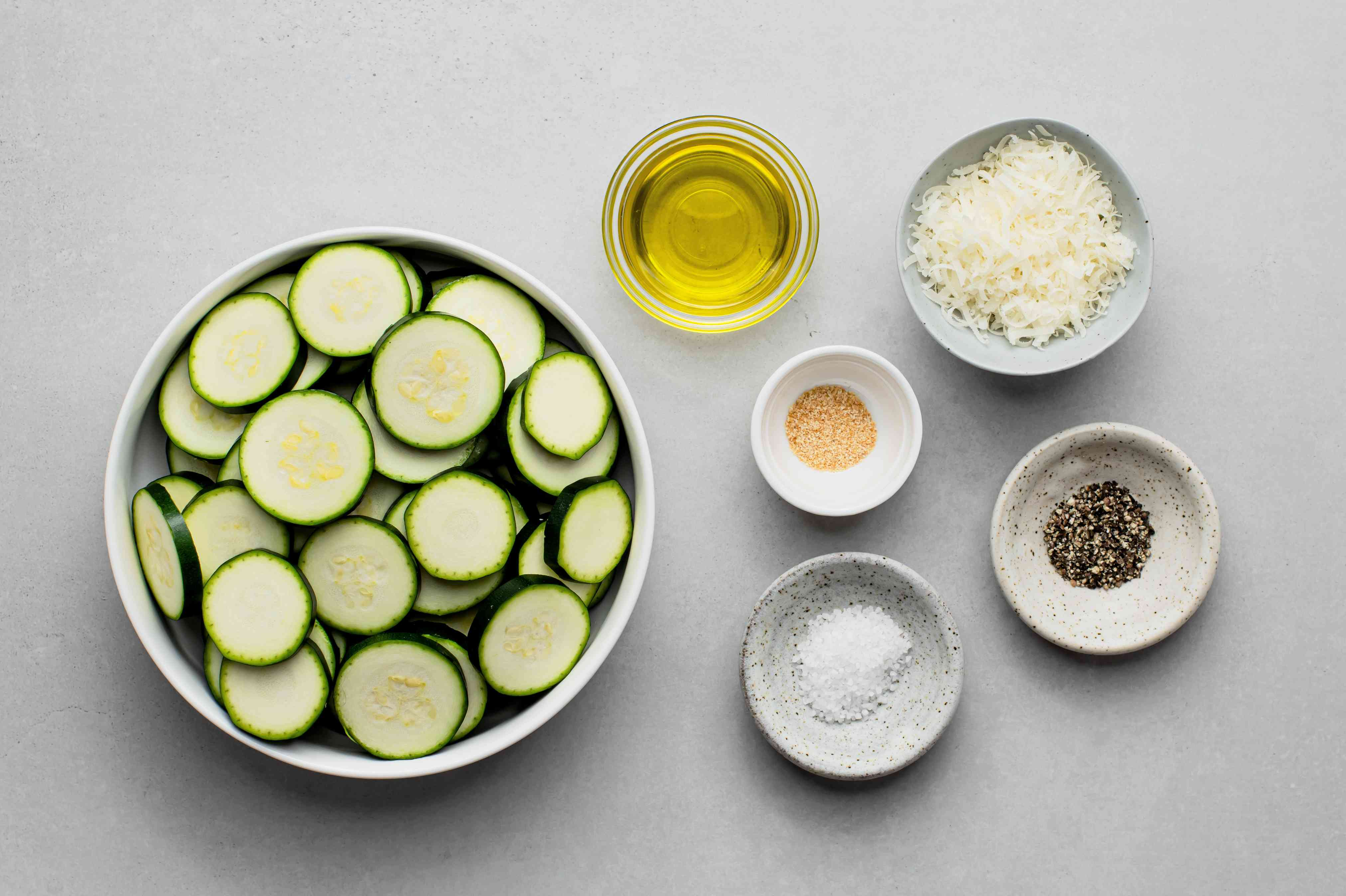 Sautéed Zucchini ingredients