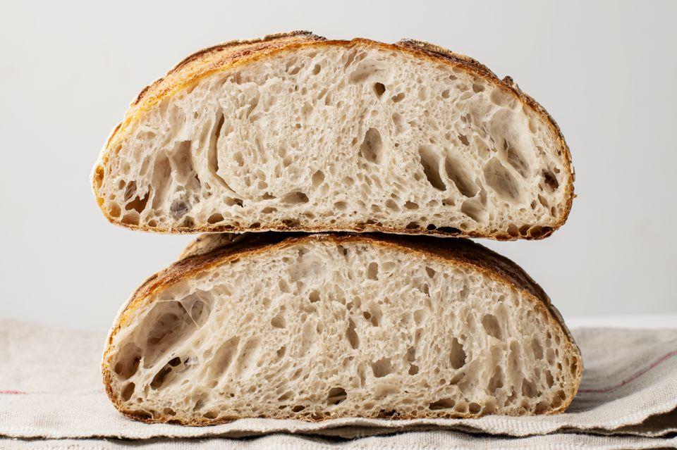 Cómo hacer un pan de masa fermentada
