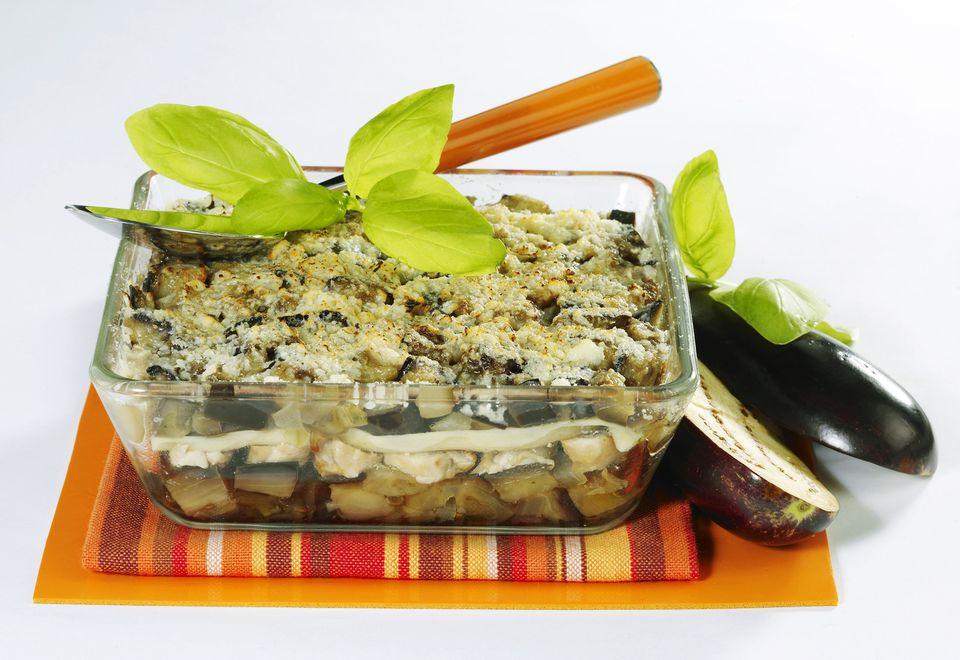 Chicken Lasagna With Eggplant