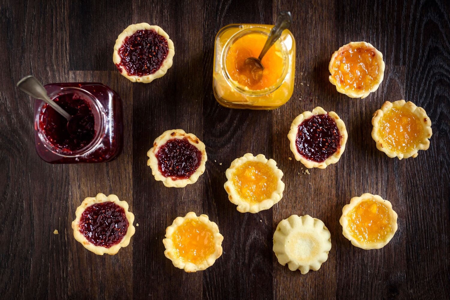 Easy Recipe for Traditional Jam Tarts