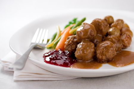 Swedish Meatballs With Ground Beef And Pork