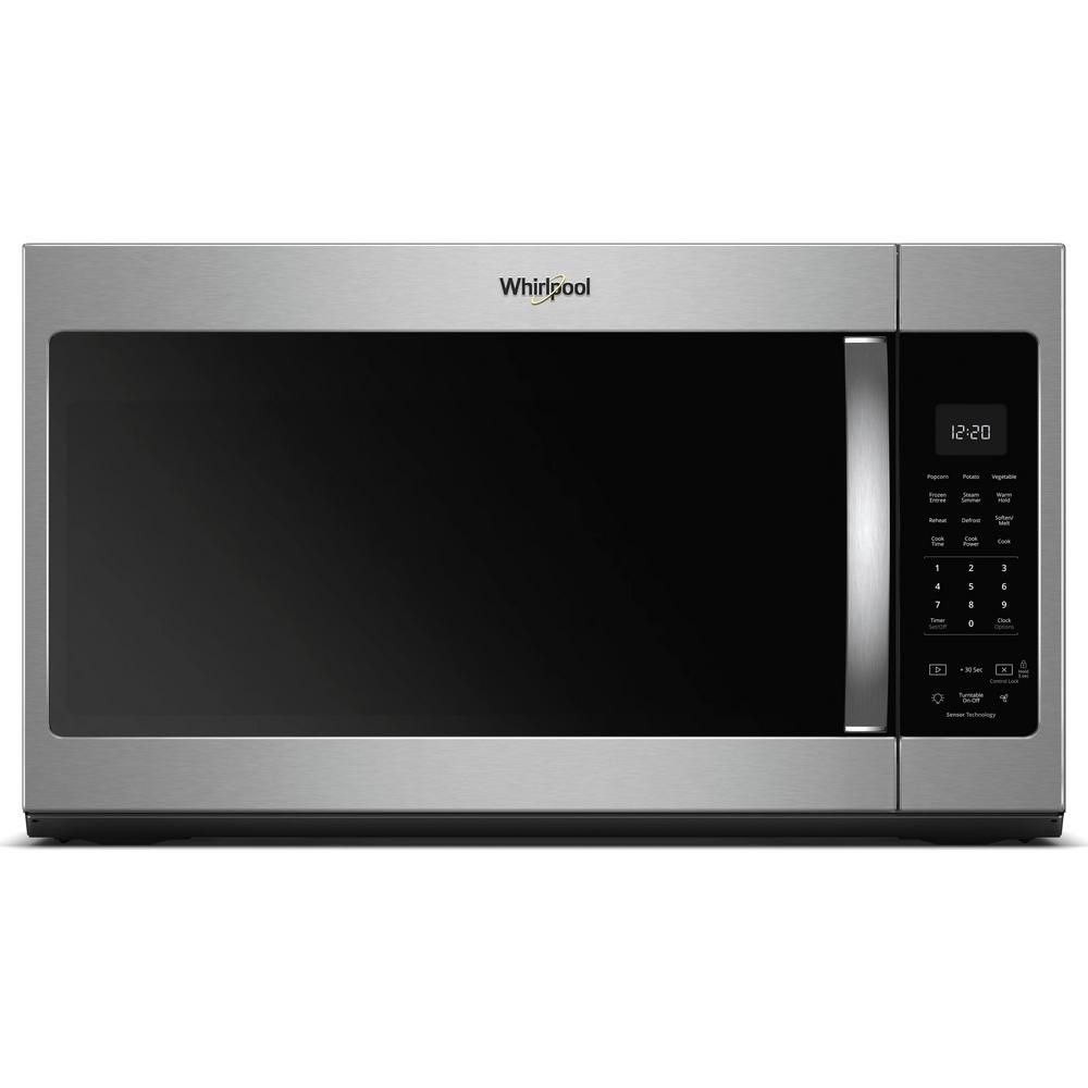 Best Mountable Whirlpool 1 9 Cu Ft Over The Range Microwave