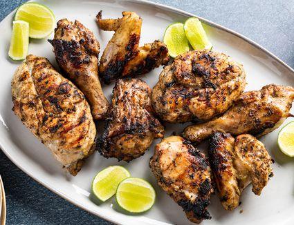 Authentic Jamaican Jerk Chicken