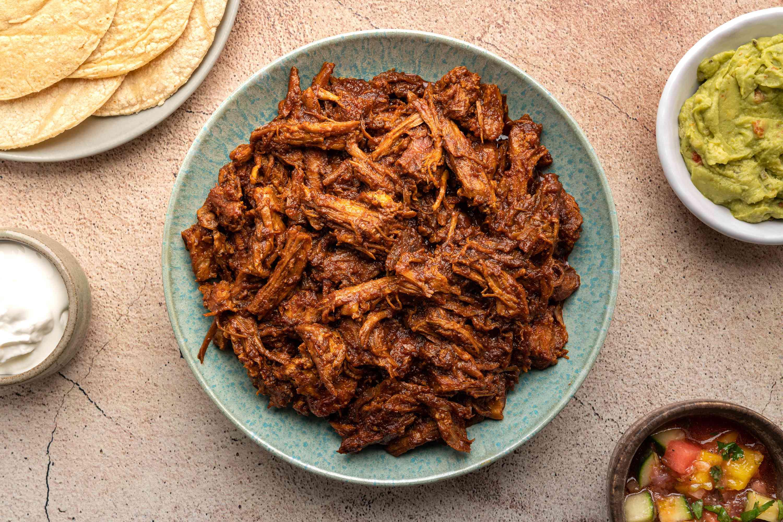 Sinaloan Pork in Chile Sauce (Chilorio)