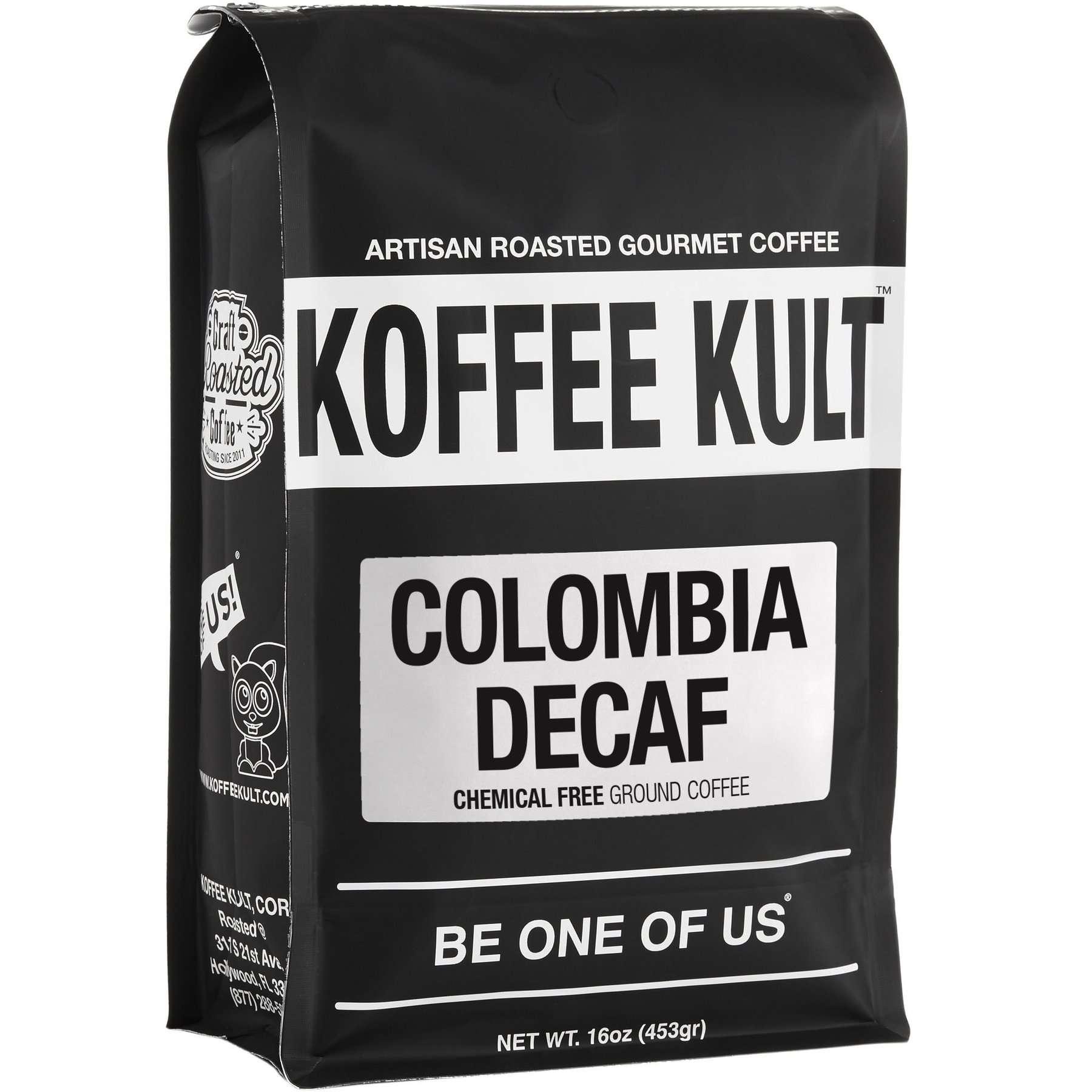 Koffee Kult Colombian Decaf Coffee