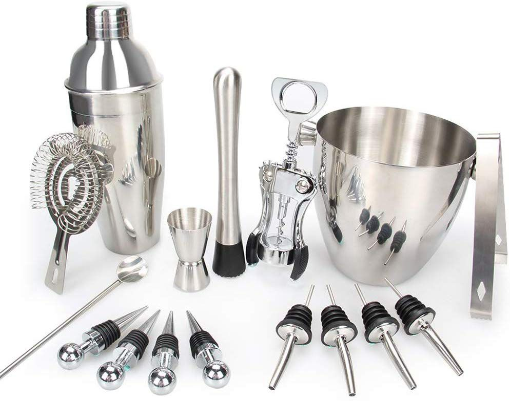 Bar Set, 16 Pieces Bartender Kit