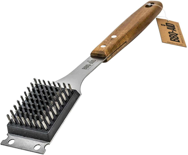 BBQ-Aid Barbecue Grill Brush and Scraper