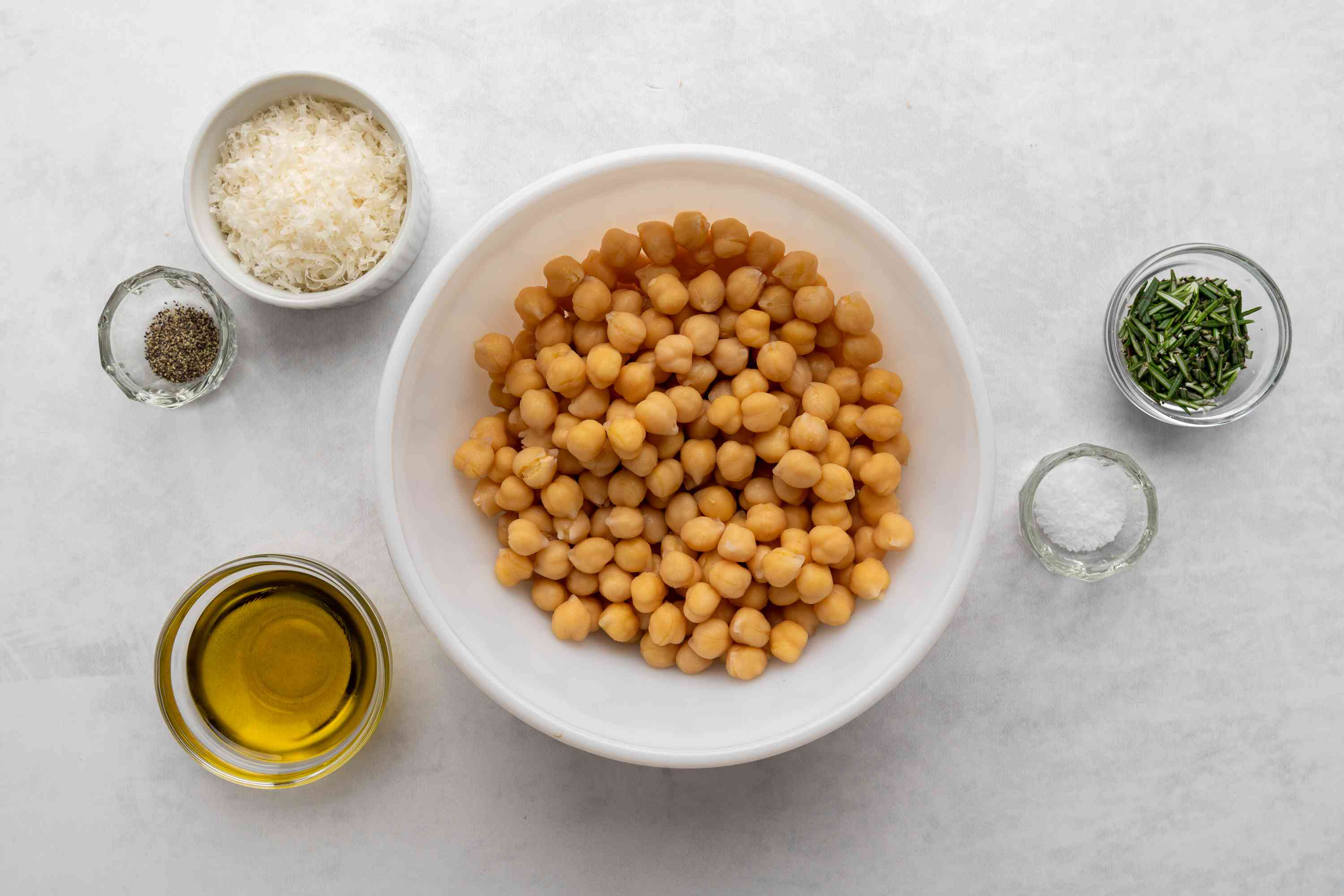 Roasted Chickpeas With Parmesan Cheese ingredients