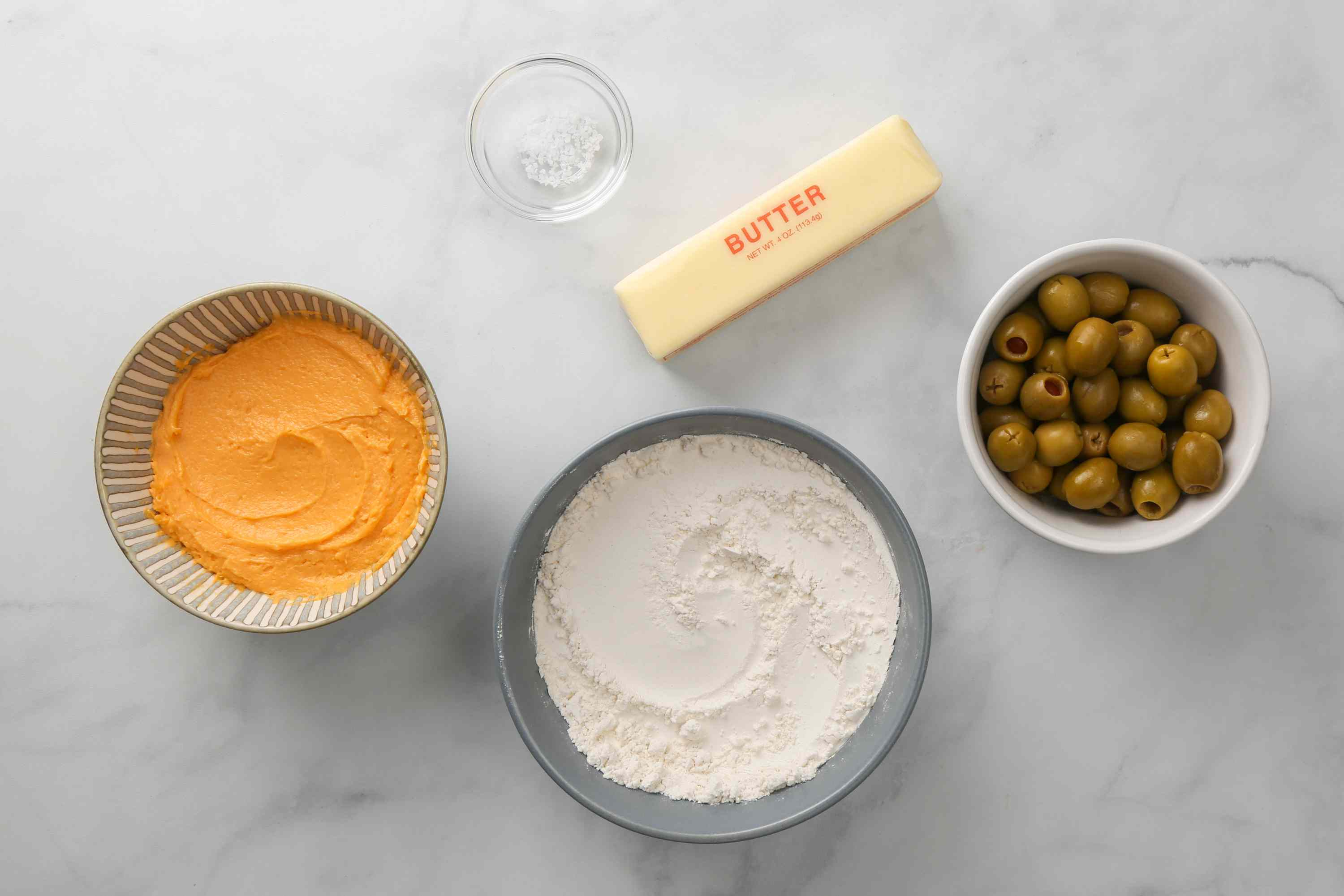 Olive Cheese Balls With Cheese Spread ingredients