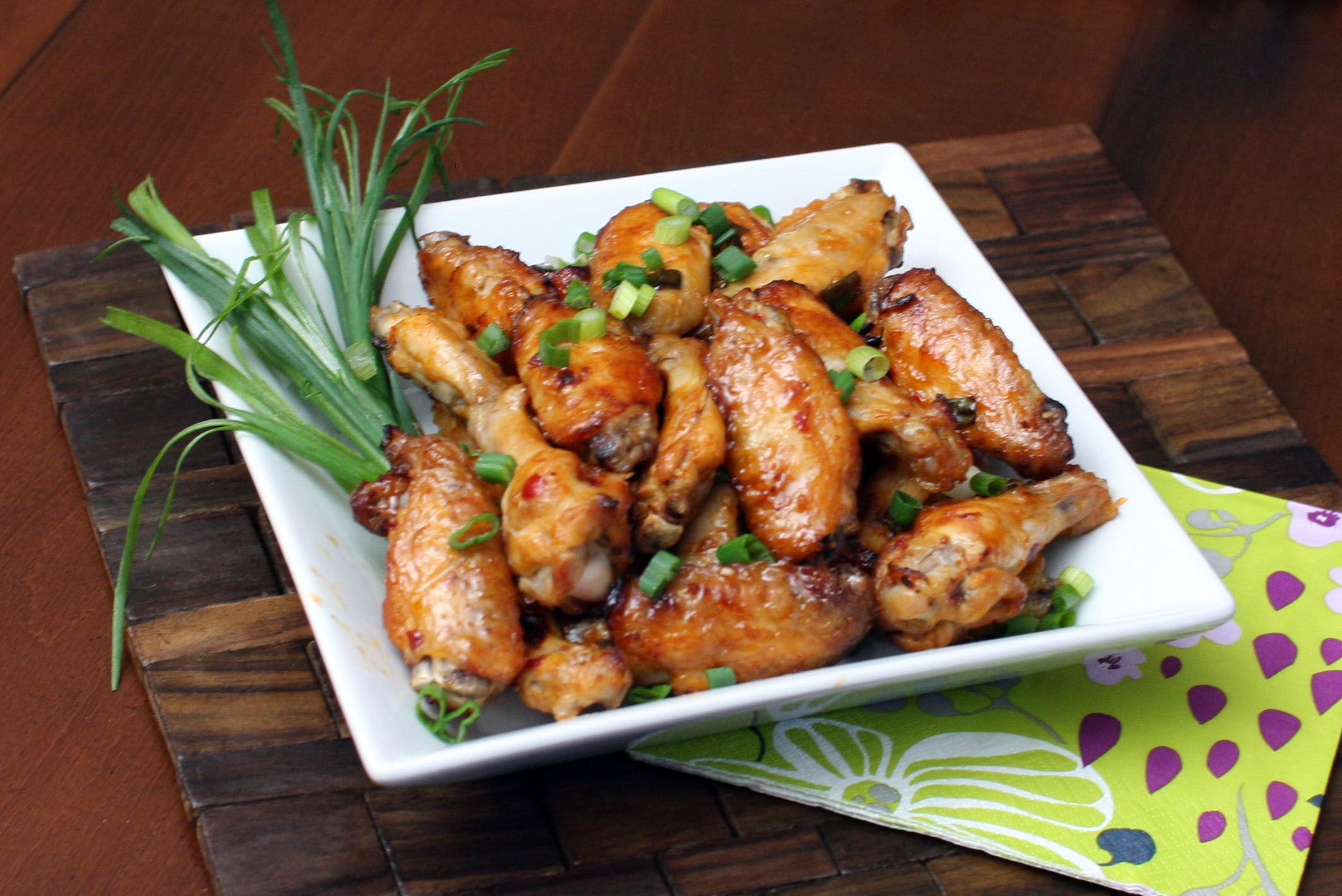 Spicy Cajun Style Chicken Wings