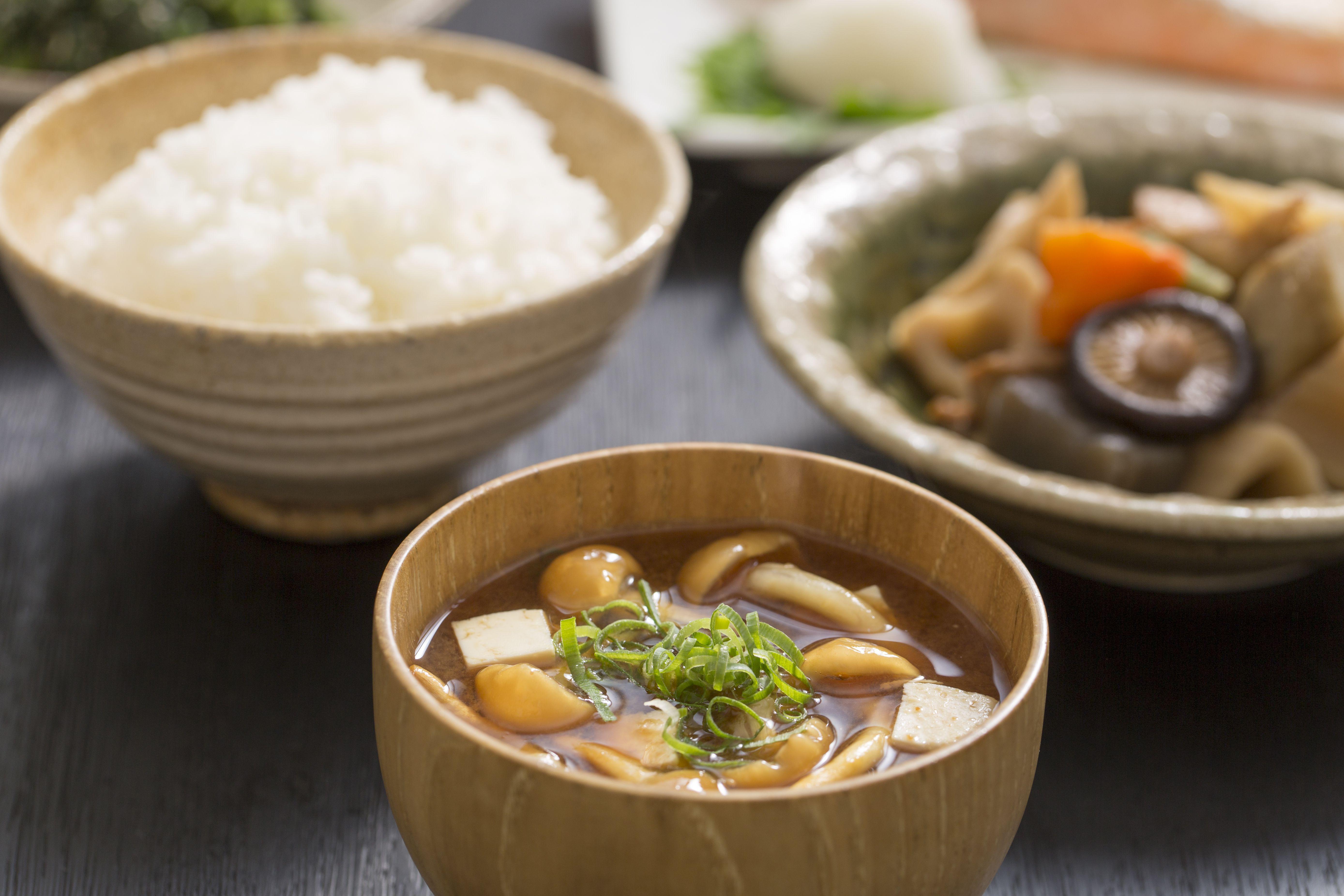Japanese Vegetable Miso Soup Recipe Vegan