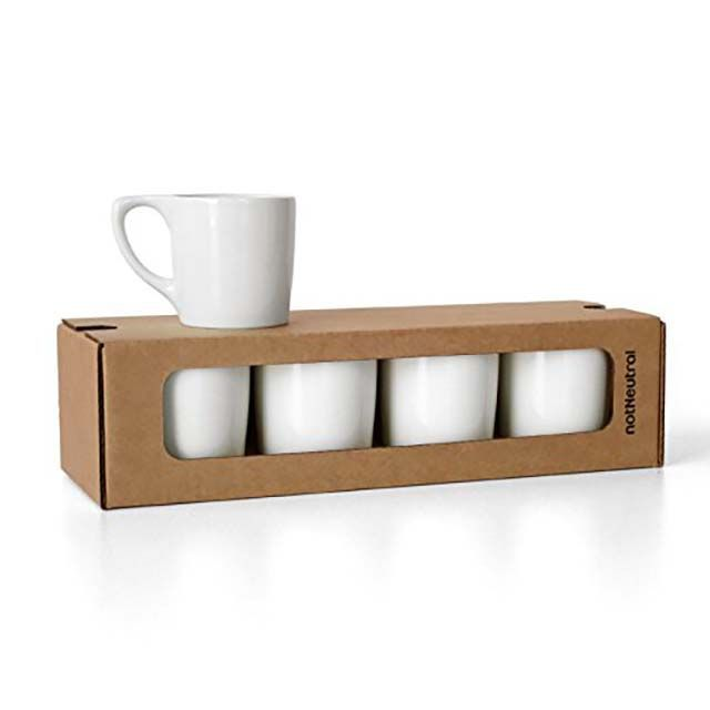 LINO Coffee Mug Gift Set of Four