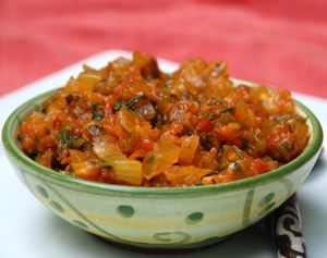 Hogao (Colombian tomato and onion salsa)
