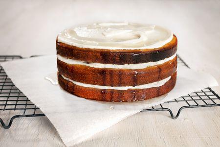 Basic 3 Layer Yellow Cake Recipe