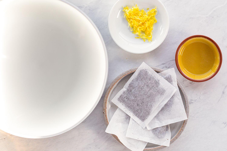 Simple Middle Eastern Lemon Tea ingredients