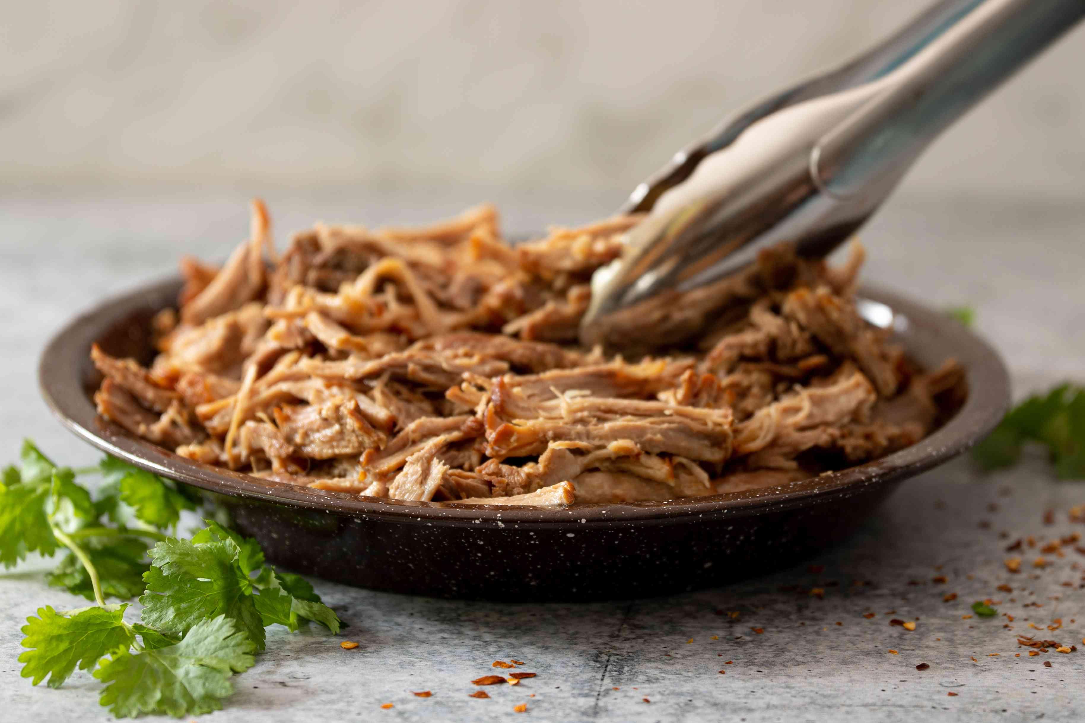 instant pot pork shoulder shredded