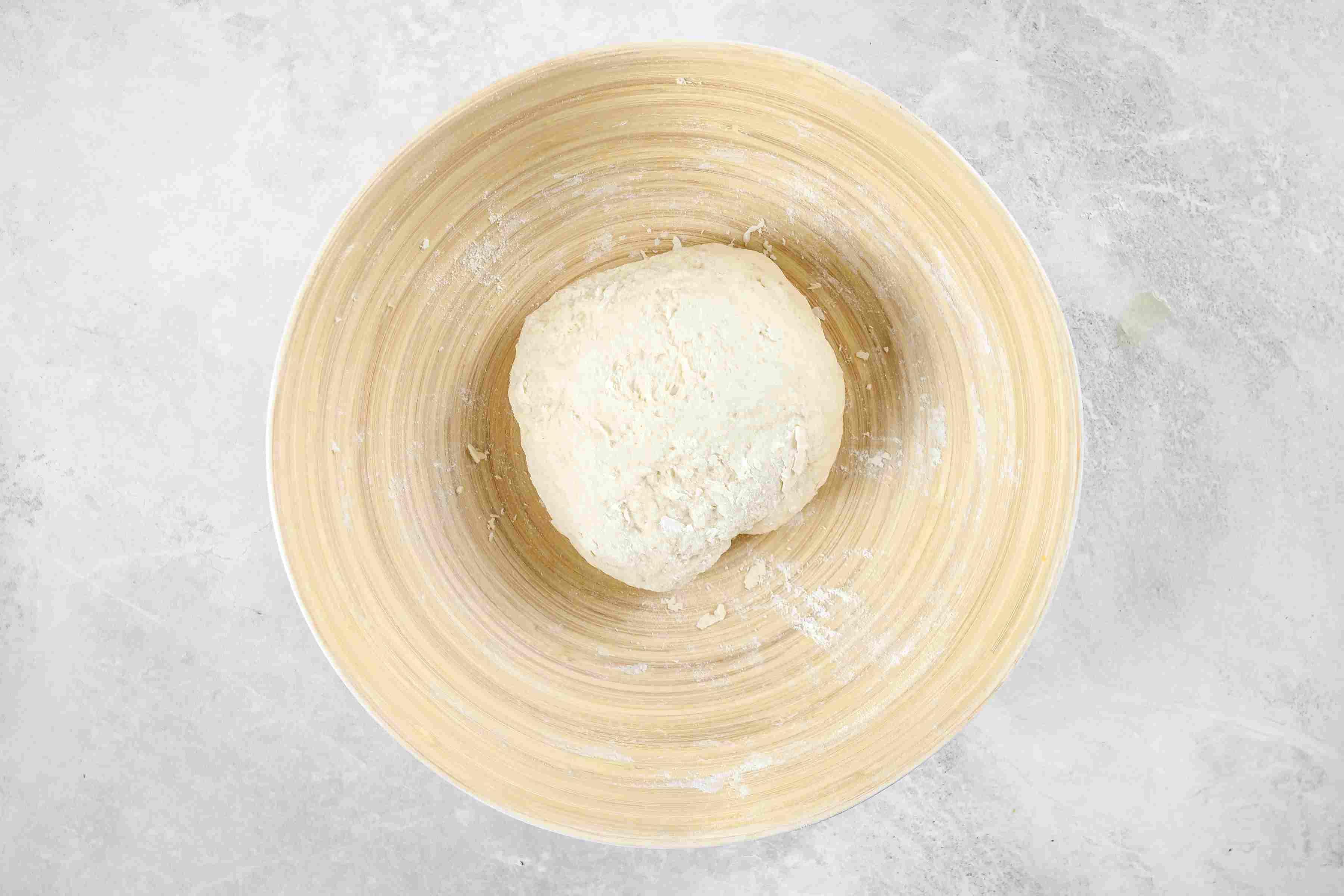 Add the flour mixture