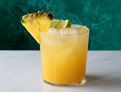 Pineapple Tequila Mixed Drink