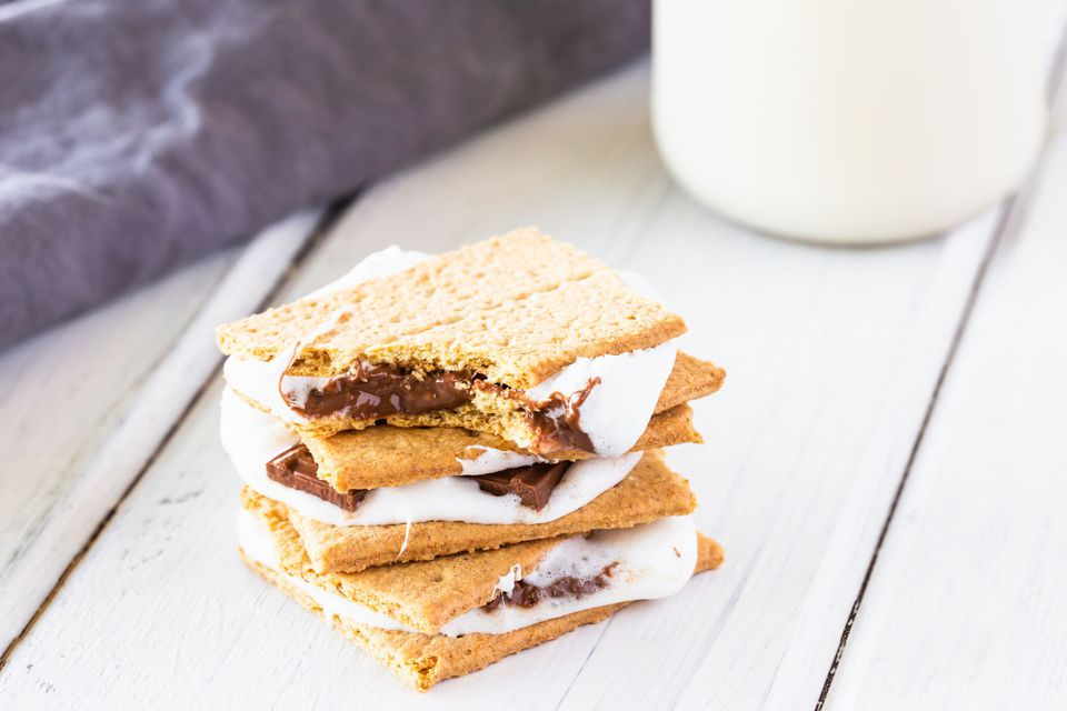 Baked S'mores in the oven recipe