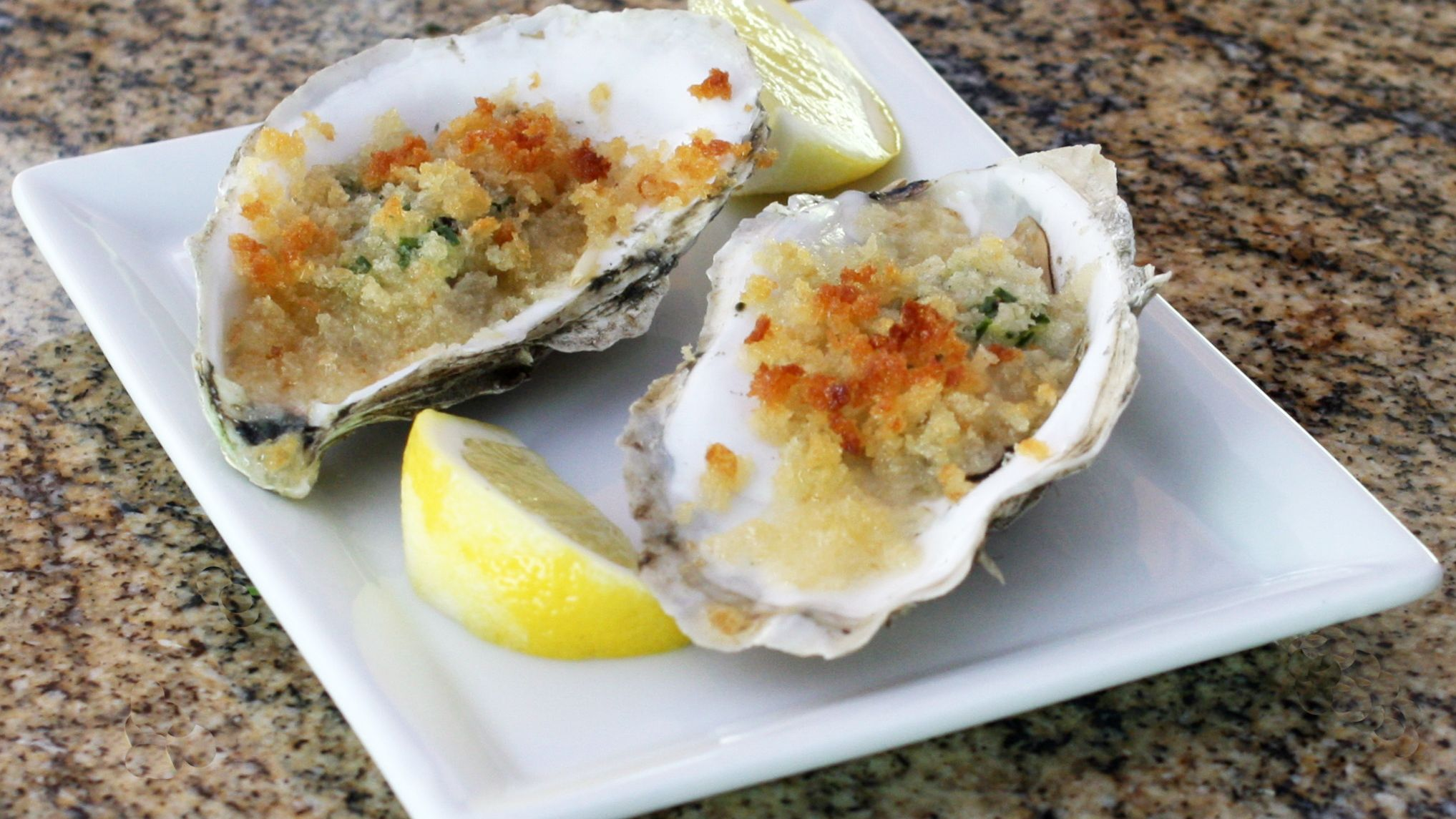 Easy Butter and Herb Baked Oysters