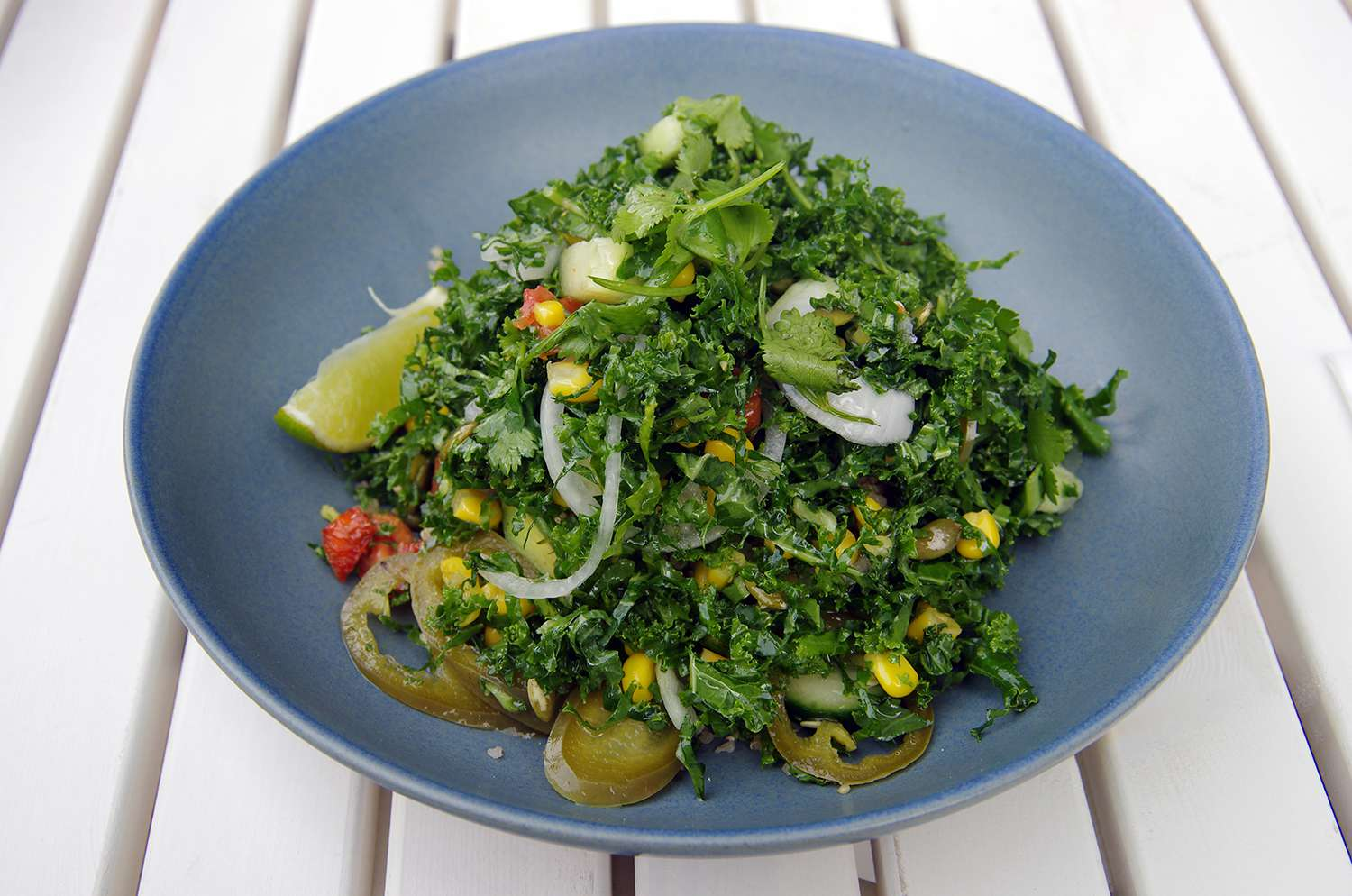 Mexican-style vegetarian salad