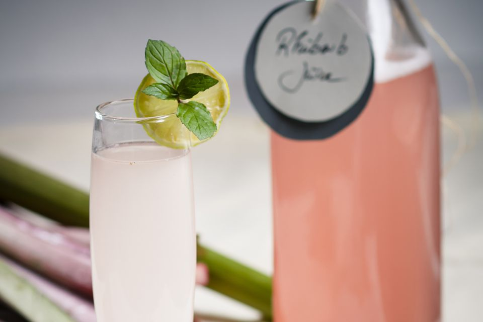 Rhubarb Rosemary Daiquiri