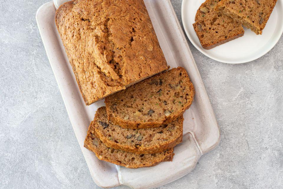 easy, moist zucchini bread
