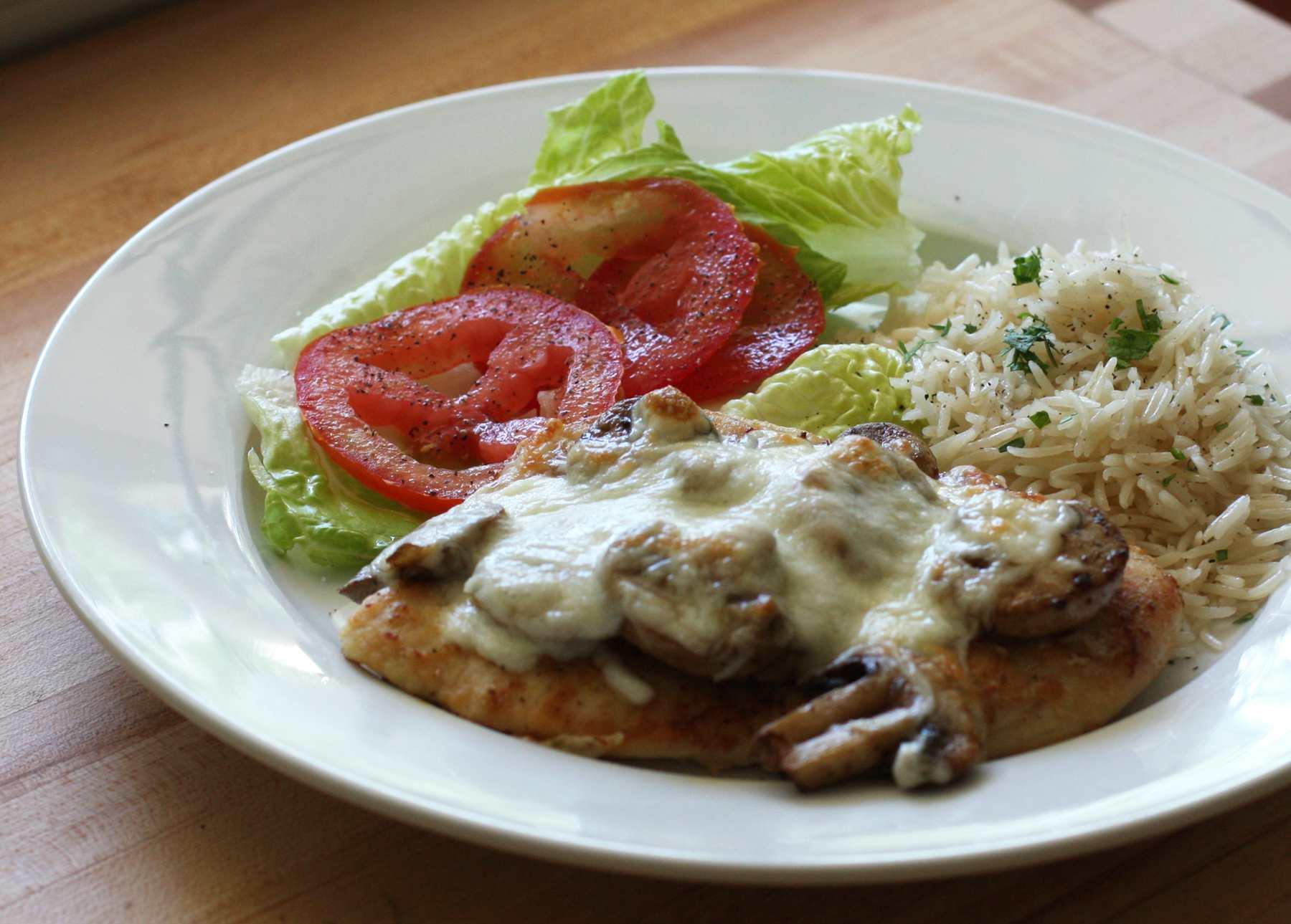 Easy Chicken With Mozzarella Cheese