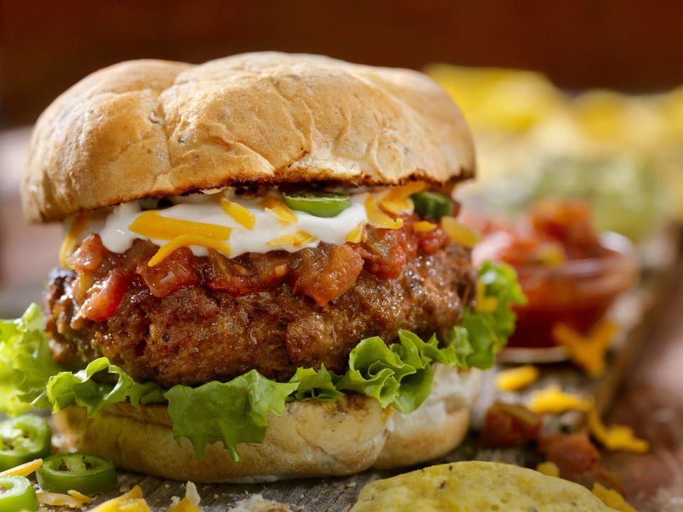 The Taco Seasoned Burger