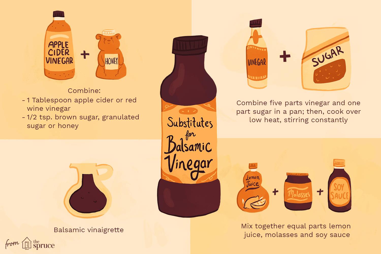 Substitutes for balsamic vinegar