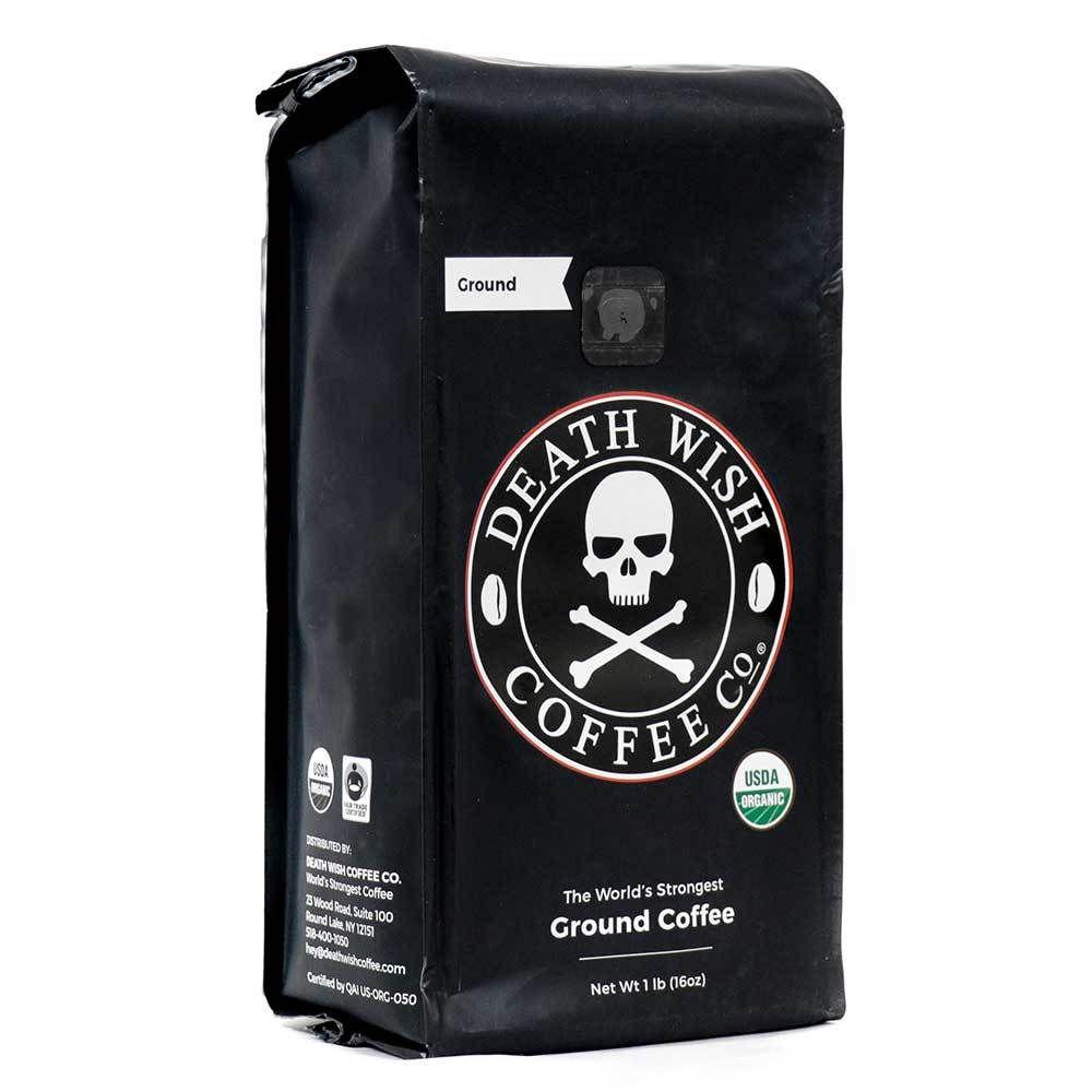 Death Wish Coffee Ground Coffee