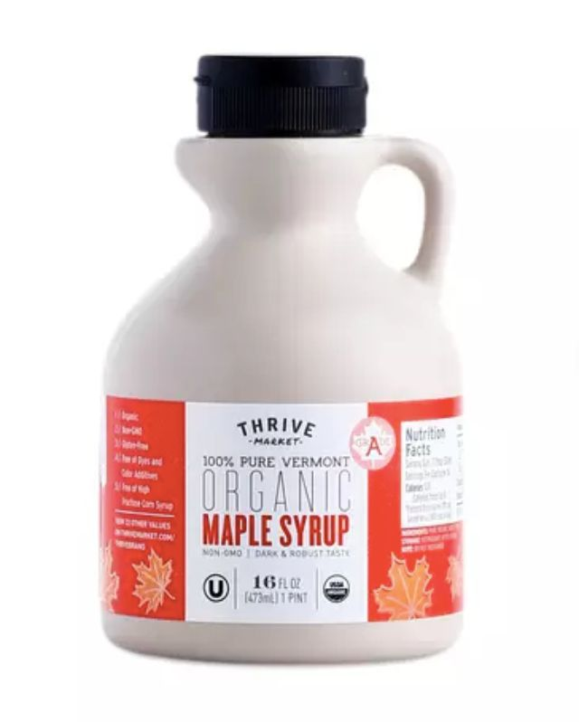Thrive Market Organic Maple Syrup