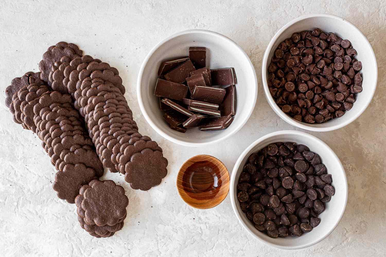 Skinny Mint Cookies ingredients
