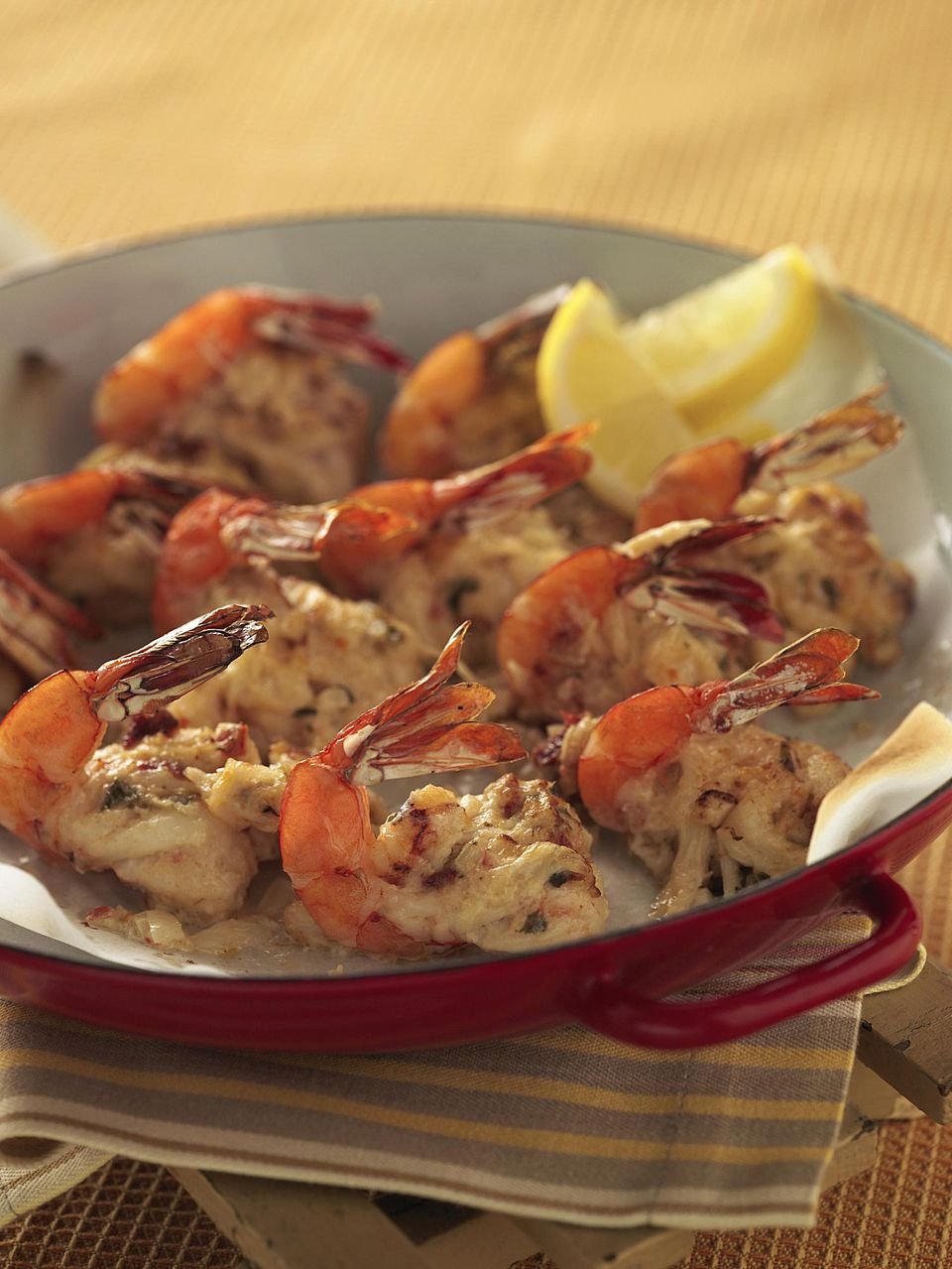 Baked Stuffed Jumbo Shrimp