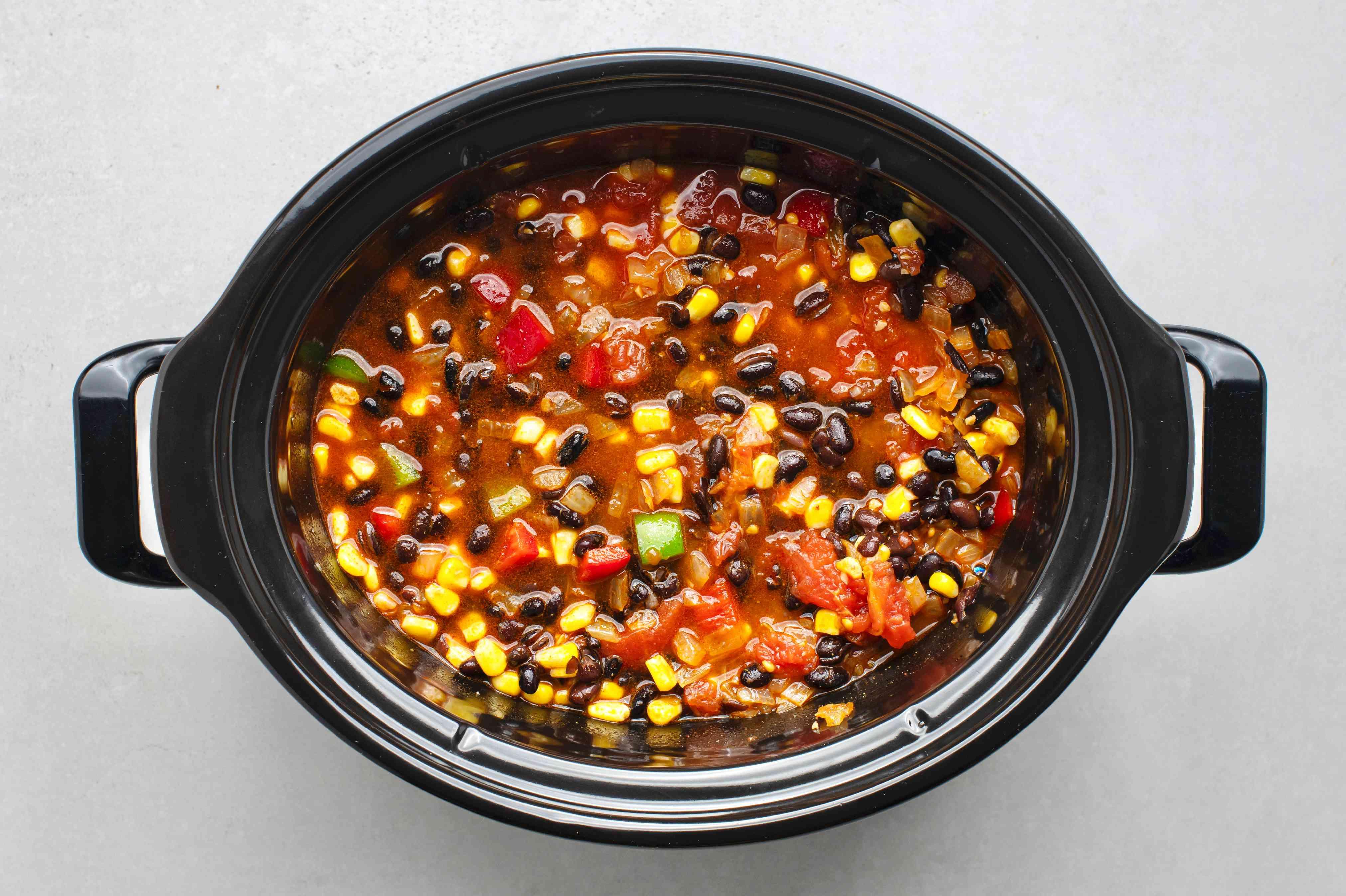 Crock Pot Black Bean Chili Recipes