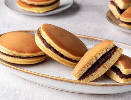 Dorayaki: Japanese Sweet-Filled Pancakes
