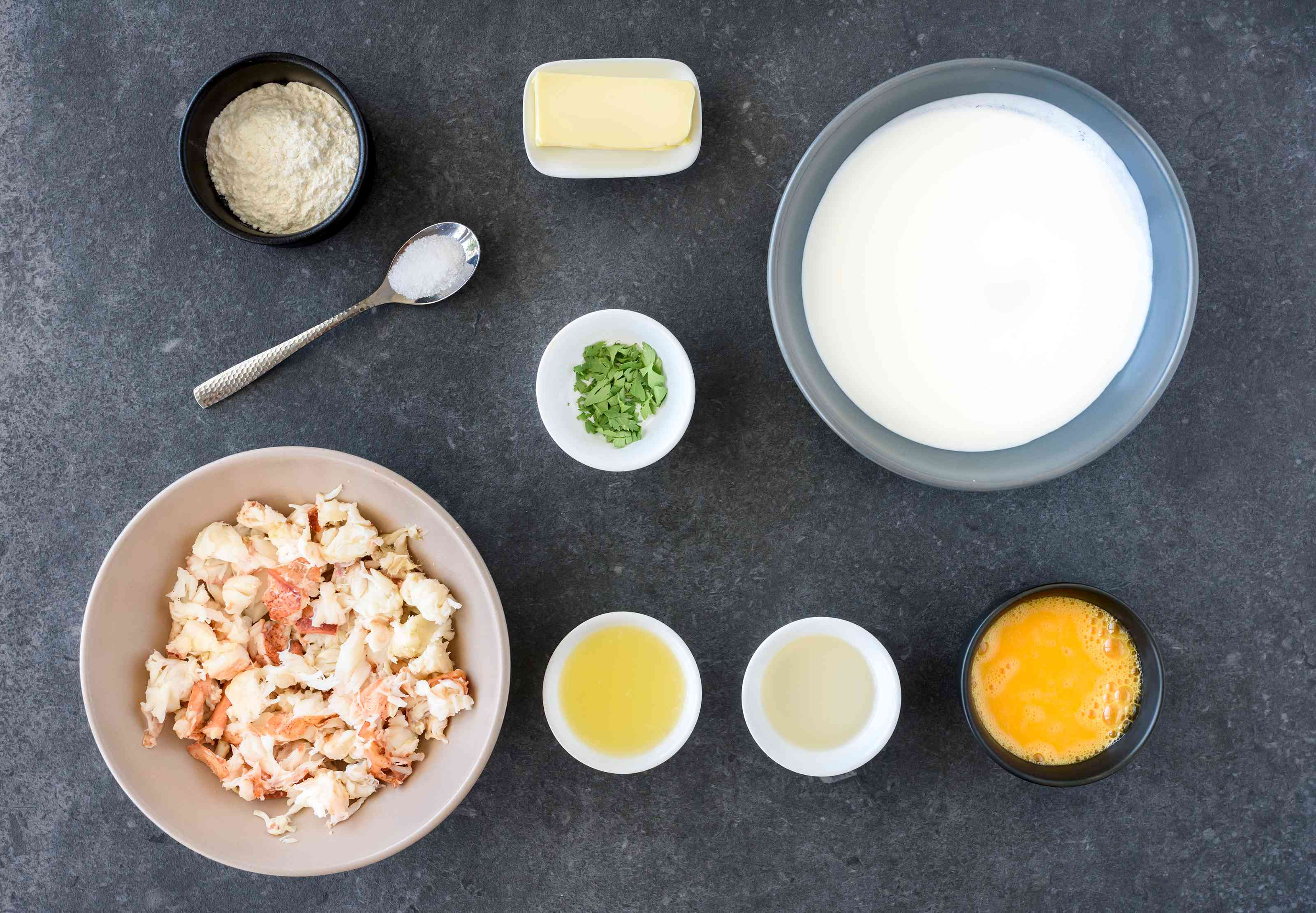 Creamy lobster newburg ingredients