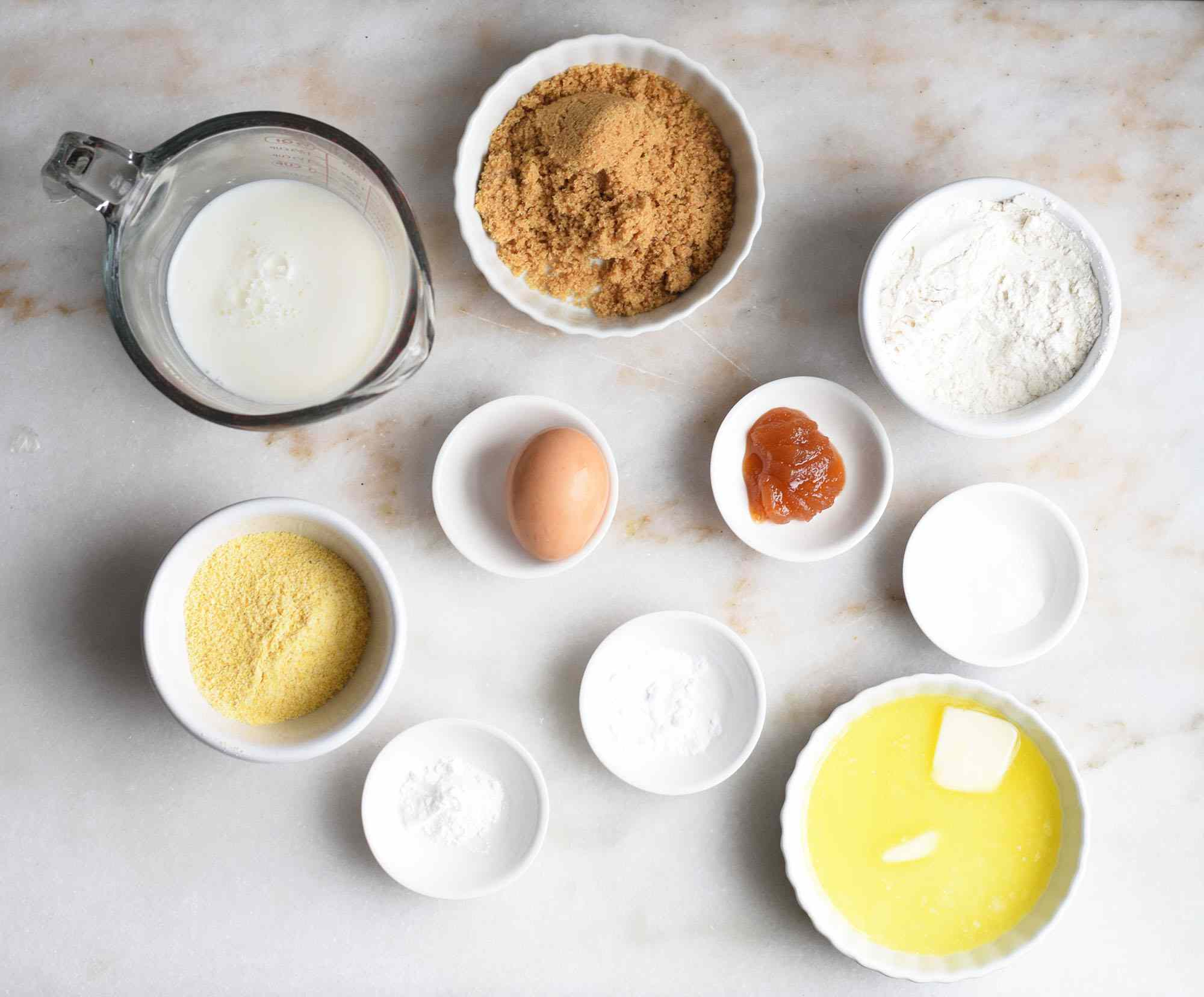 air fryer cornbread ingredients