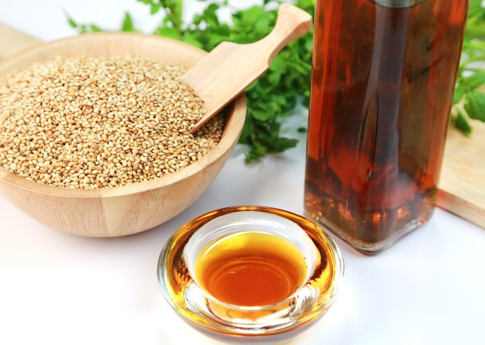 Sesame seeds and sesame oil