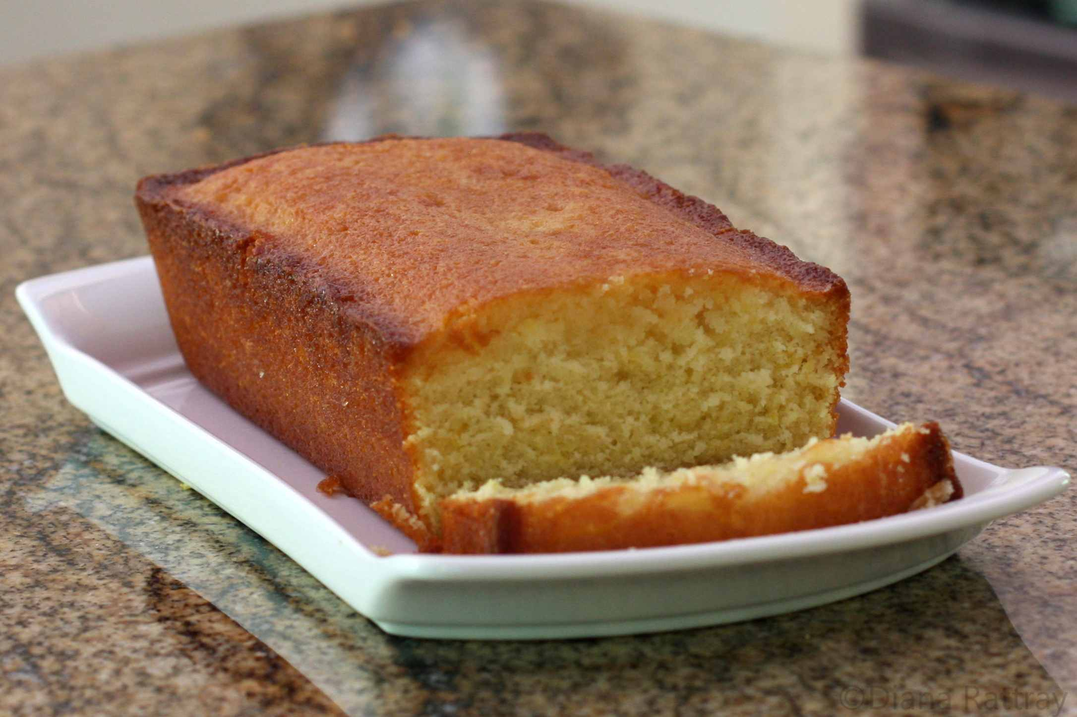 Lemon Pound Cake Loaf Recipe