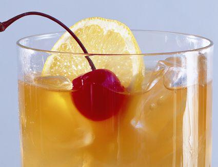 Canadian Club Sour Cocktail