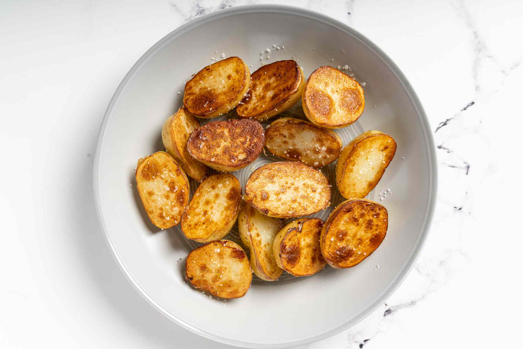 fried potatoes in a bowl