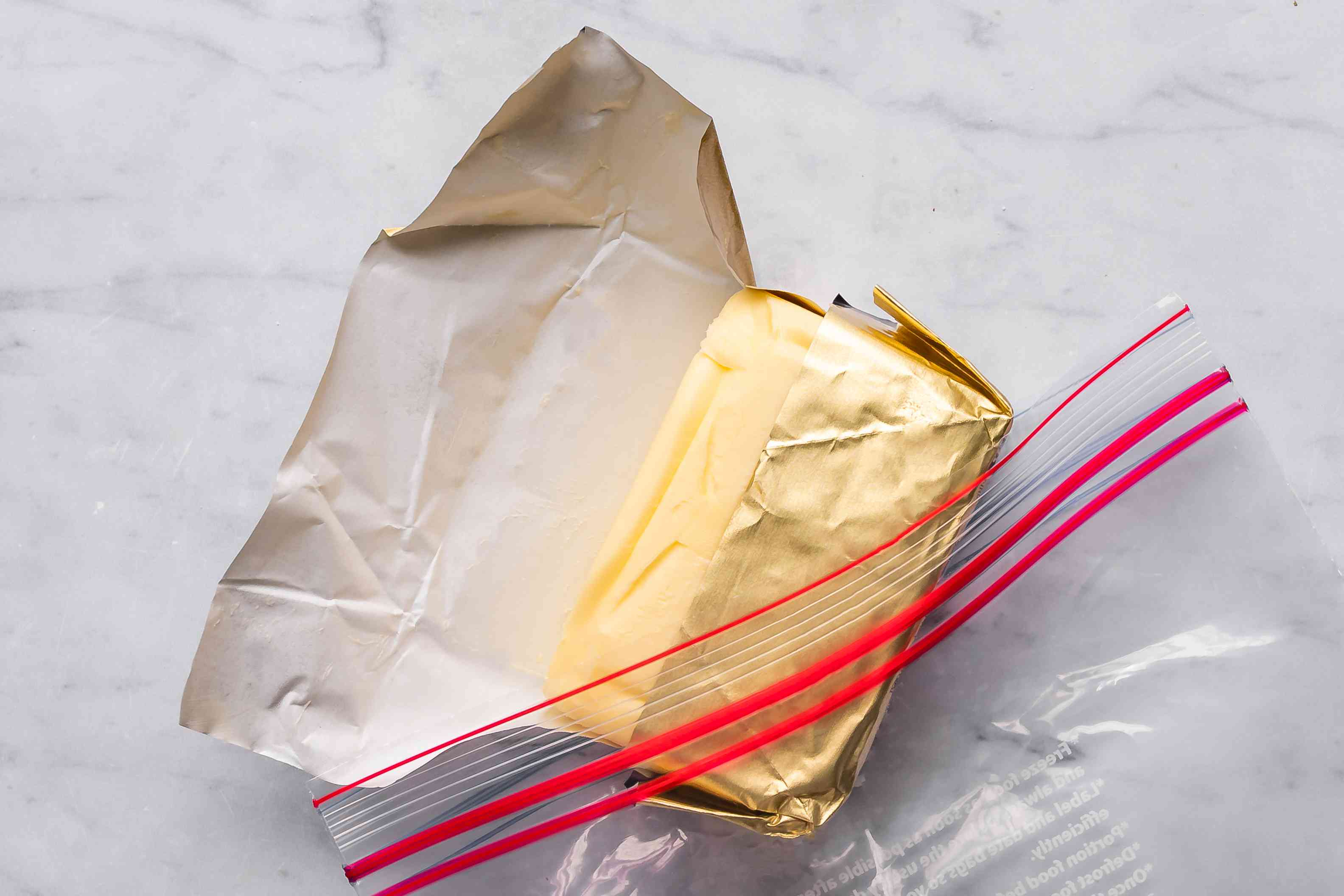 Butter out of package