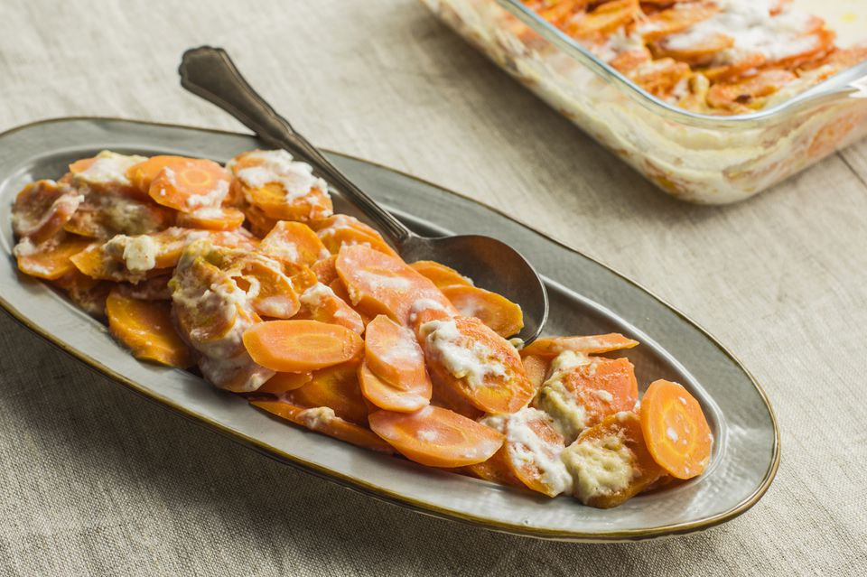 Carrot ginger casserole recipe