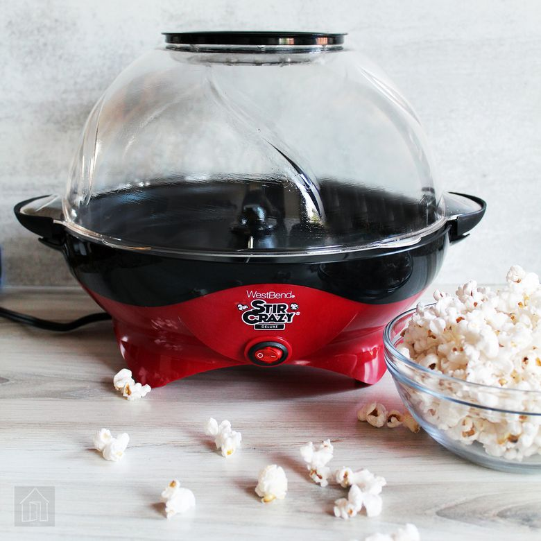 West Bend Stir Crazy Deluxe Popcorn Popper
