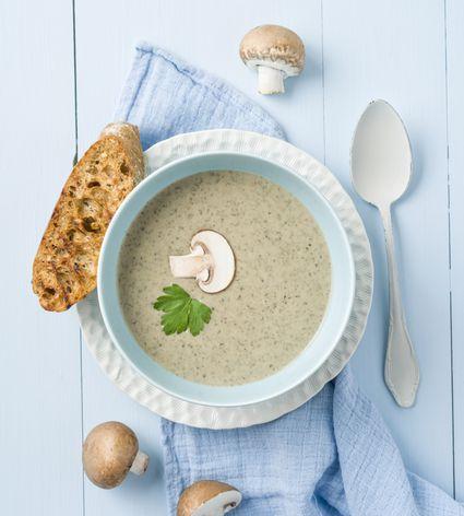 Cream of Mushroom Soup - German Champignon Cremesuppe