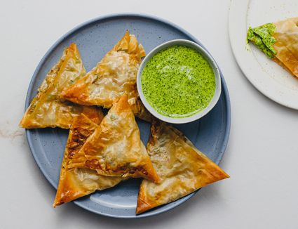 Quick and Easy Baked Vegetarian Samosas recipe
