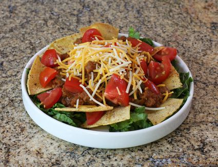 Taco Salad With Dressing