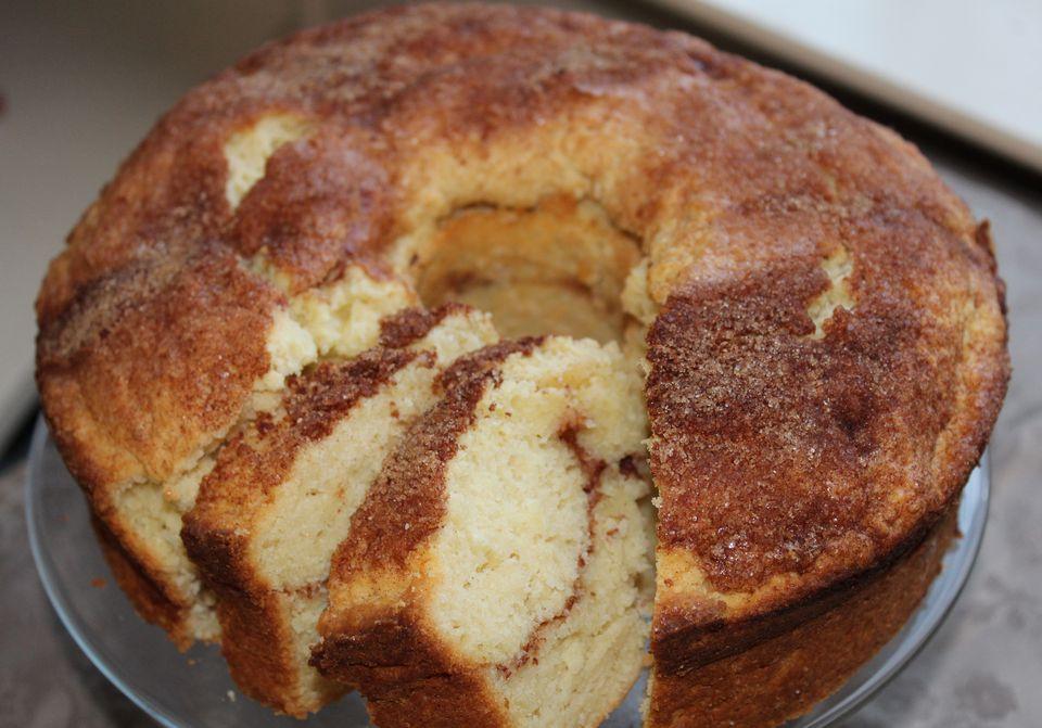 Cinnamon sugar Kuchen coffee cake